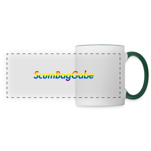 ScumBagGabe Multi Logo XL - Panoramic Mug
