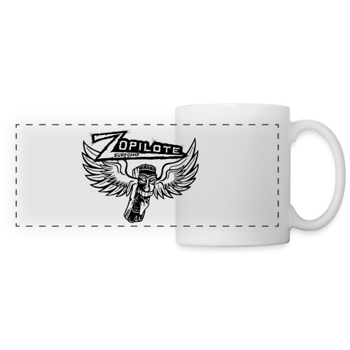 zopilote merch logo - Panoramic Mug