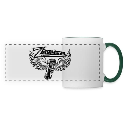 zopilote merch logo - Panoramic Mug