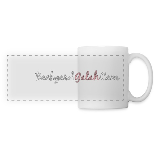 Backyard Galah Cam logo - Panoramic Mug