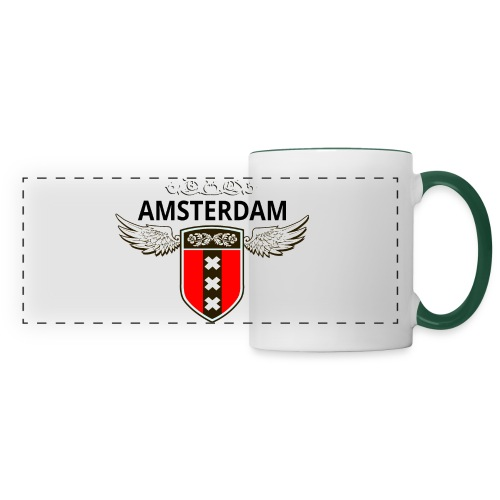 Amsterdam Netherlands - Panoramatasse