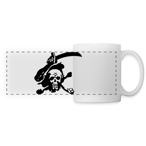 Skull Attack - Panoramic Mug