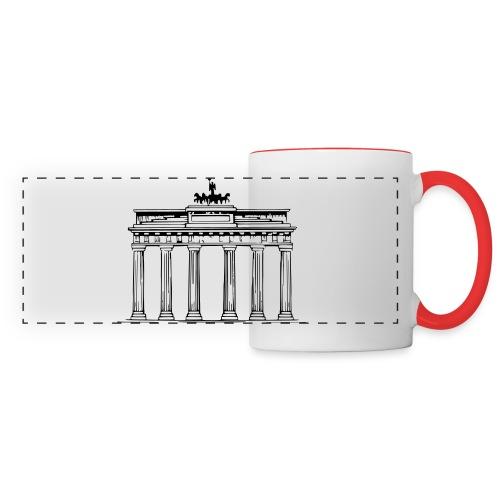 Brandenburger Tor Berlin Victoria Streitwagen - Panoramatasse