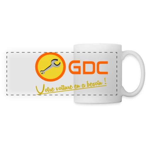 Logo-gdc - Mug panoramique contrasté et blanc