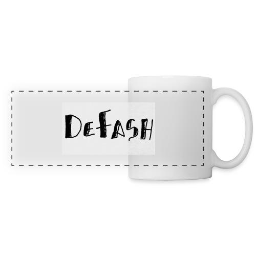 Defash1-png - Mug panoramique contrasté et blanc