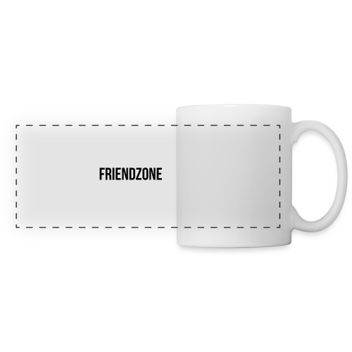 Friendzone - Mug panoramique contrasté et blanc