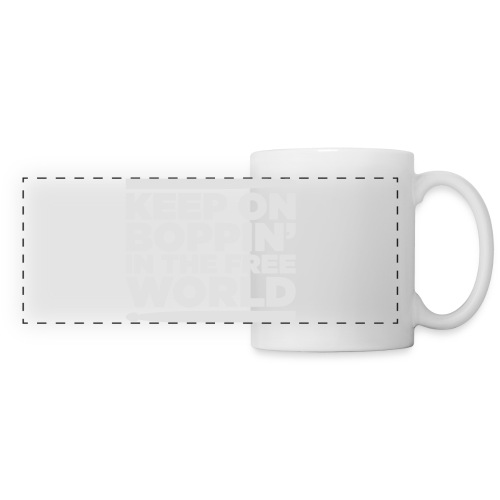 Keep on Boppin' - Panoramic Mug