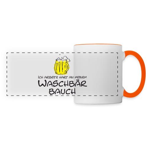 Waschbaerbauch - Panoramatasse