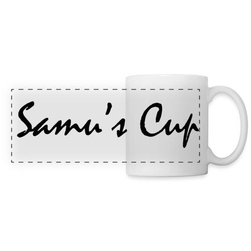 Samu s cup texte png - Mug panoramique contrasté et blanc