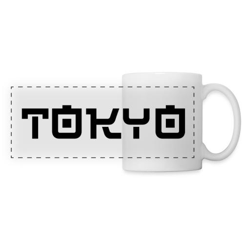Tokyo - Mug panoramique contrasté et blanc
