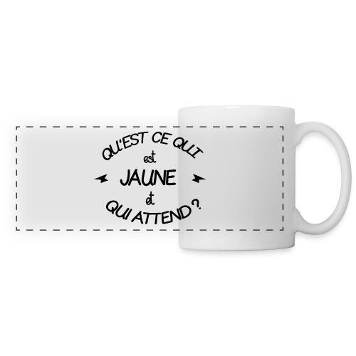 Edition Limitée Jonathan - Mug panoramique contrasté et blanc