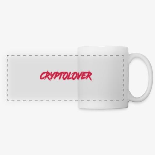 cryptolovers - Mug panoramique contrasté et blanc