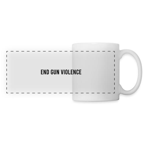 End Gun Violence - Mug panoramique contrasté et blanc