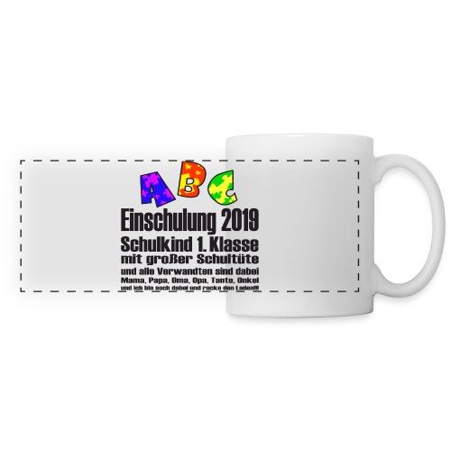 Einschulung Jahr 2019 - Panoramatasse