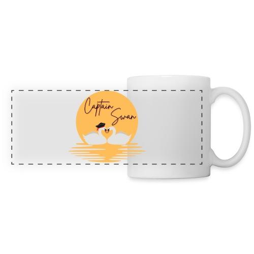 Captain Swan - Mug panoramique contrasté et blanc