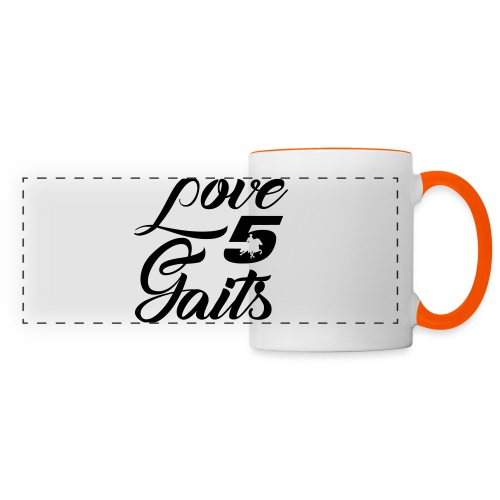 Love 5Gaits - Panoramic Mug