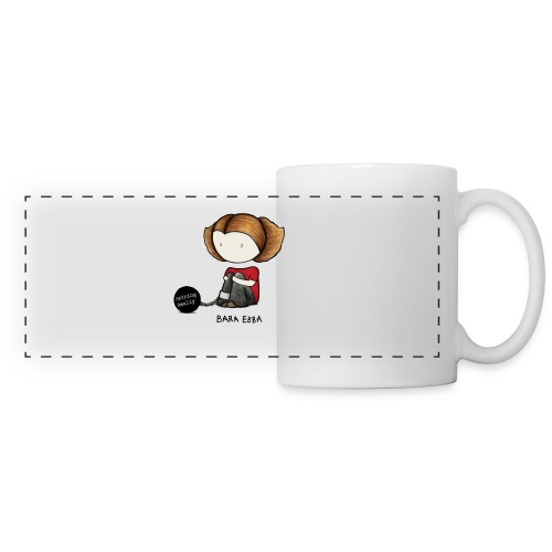 NothingReallyPrintSvartLogga png - Panoramic Mug
