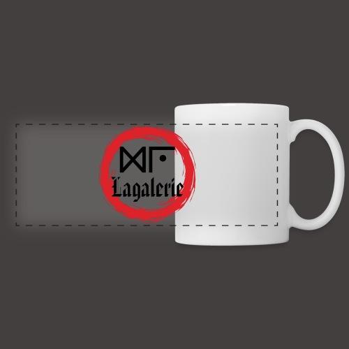 Logo Officiel Gu Lagalerie Noir - Mug panoramique contrasté et blanc