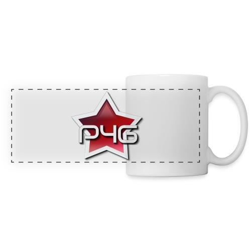 logo P4G 2 5 - Mug panoramique contrasté et blanc