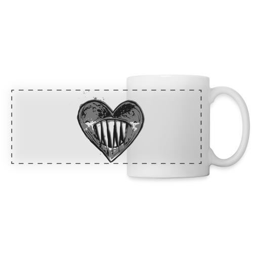 Corazón Negro - Taza panorámica