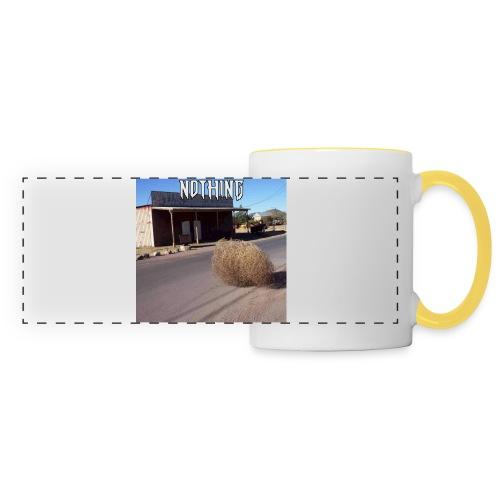 NOTHING - Mug panoramique contrasté et blanc