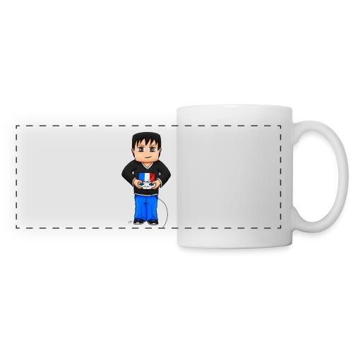 MaximeGaming - Mug panoramique contrasté et blanc