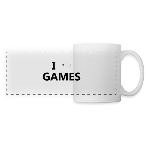 I Love Games - Taza panorámica