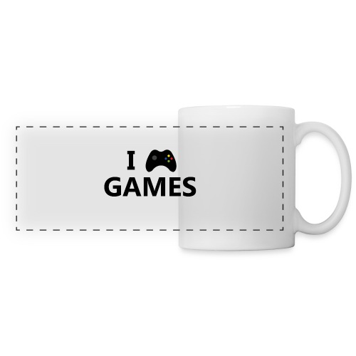 I Love Games 3 - Taza panorámica