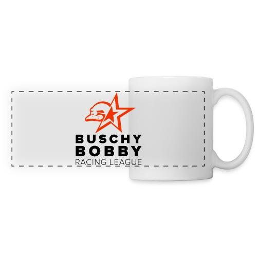 Buschy Bobby Racing League on white - Panoramic Mug