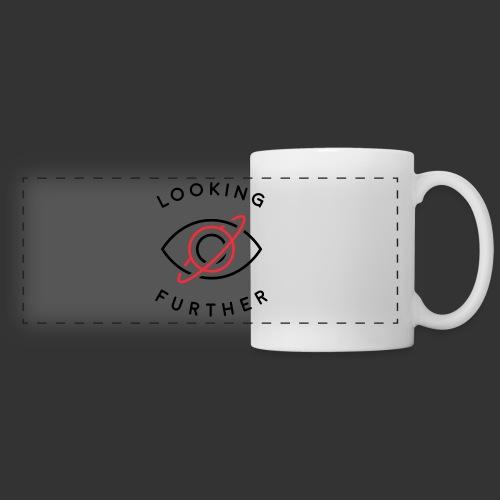 Looking Farther - White - Panoramic Mug