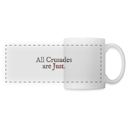 All Crusades Are Just. Alt.2 - Panoramic Mug