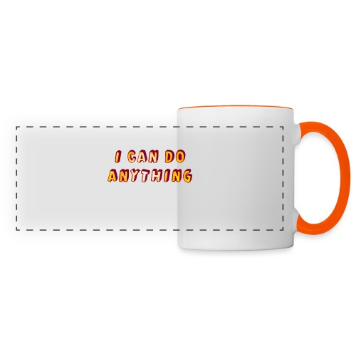 I can do anything - Panoramic Mug