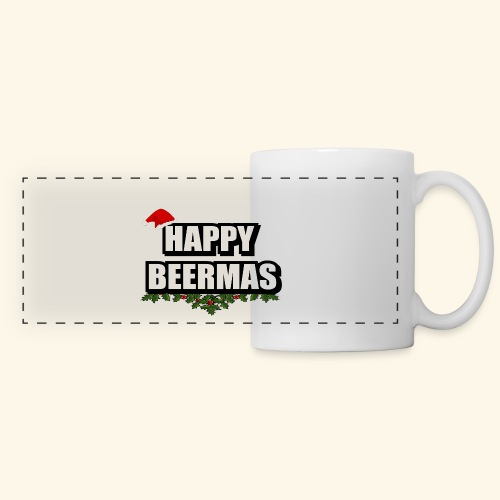 HAPPY BEERMAS AYHT - Panoramic Mug