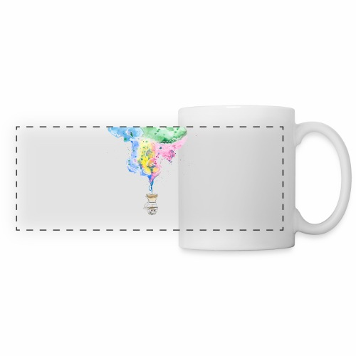 Coffee watercolor - Panoramic Mug