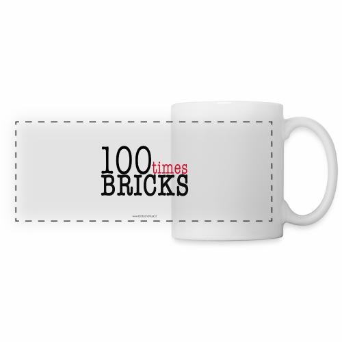 100times BRICKS - Tazza panoramica