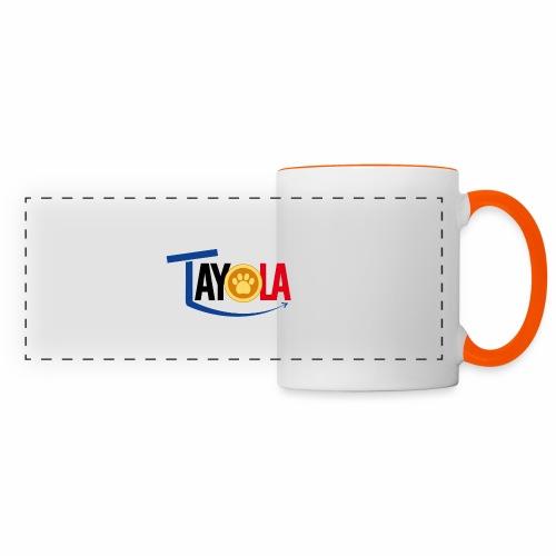TAYOLA Nouveau logo!!! - Mug panoramique contrasté et blanc