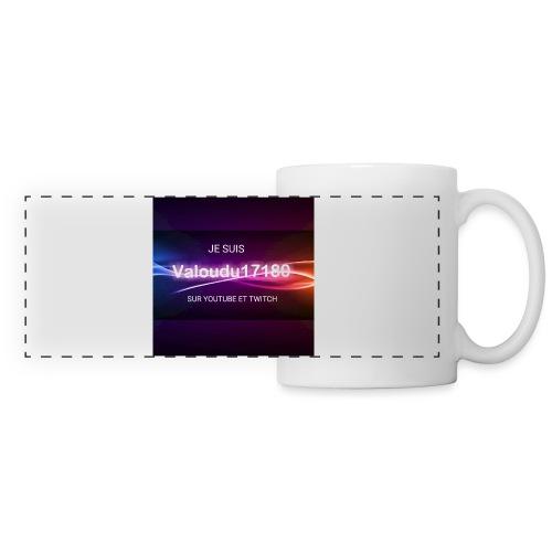 Valoudu17180twitch - Mug panoramique contrasté et blanc