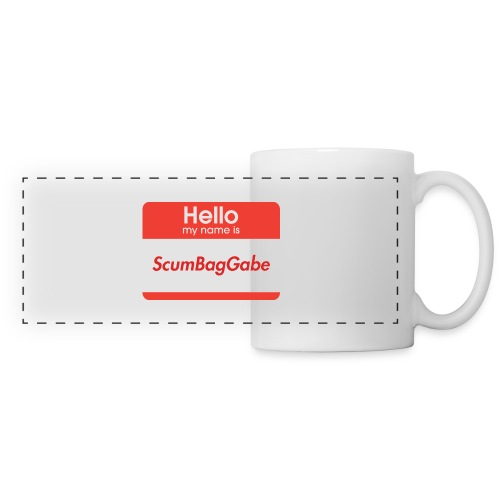 Hello My Name Is ScumBagGabe - Panoramic Mug