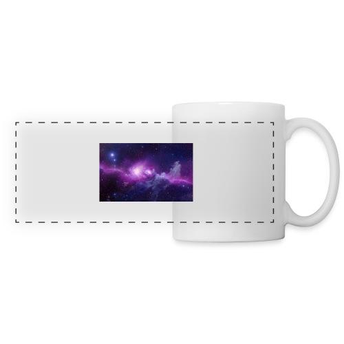 tshirt galaxy - Mug panoramique contrasté et blanc
