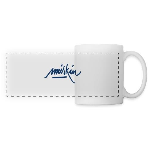 T-Shirt Miskin - Mug panoramique contrasté et blanc