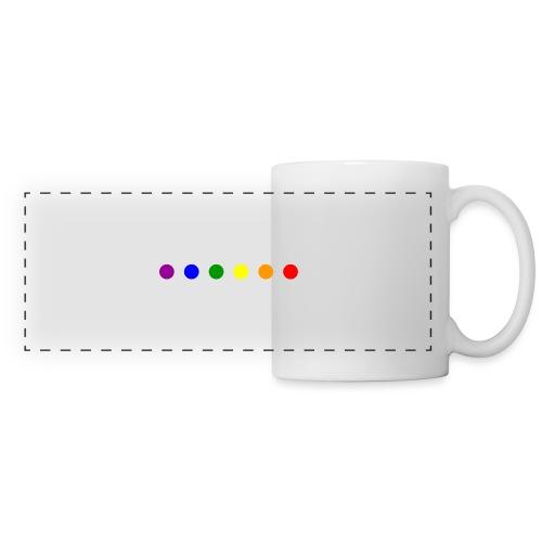 LGBT Logo - Mug panoramique contrasté et blanc