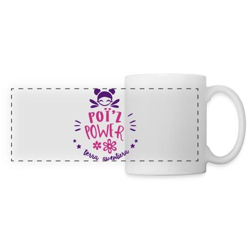 Flexographie Zelle - Mug panoramique contrasté et blanc