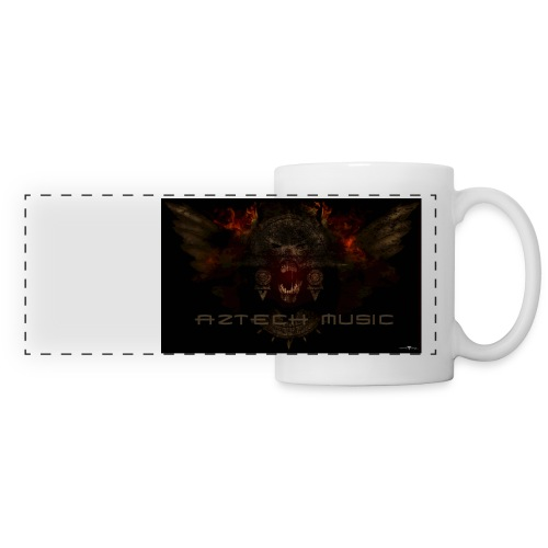 aztech music by minimaltango art 21092012 jpg - Panoramic Mug