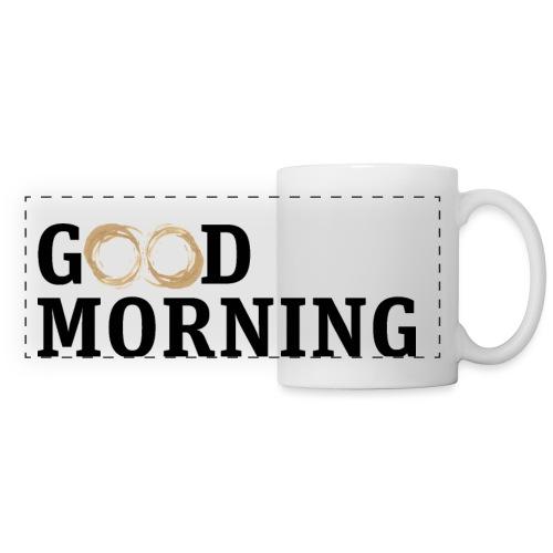 Coffee Spot Good Morning - Panoramic Mug