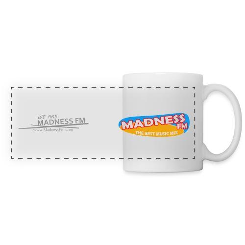 wearemadnessgreyscaled - Panoramic Mug