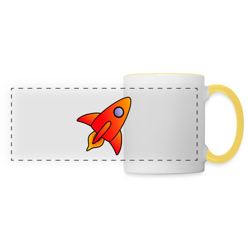 Red Rocket - Panoramic Mug