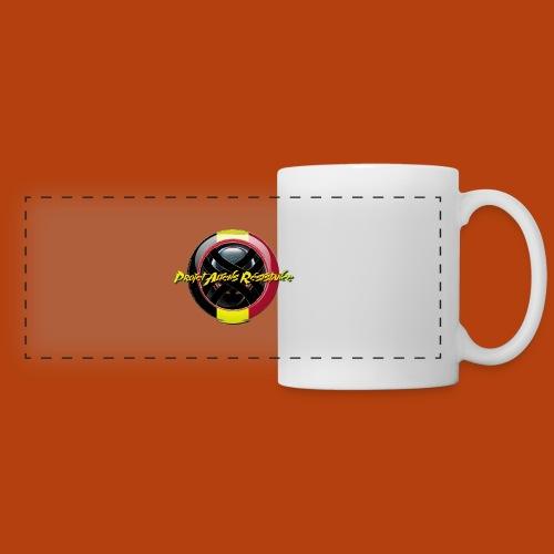Logo Projet Aliens Résistance - Mug panoramique contrasté et blanc