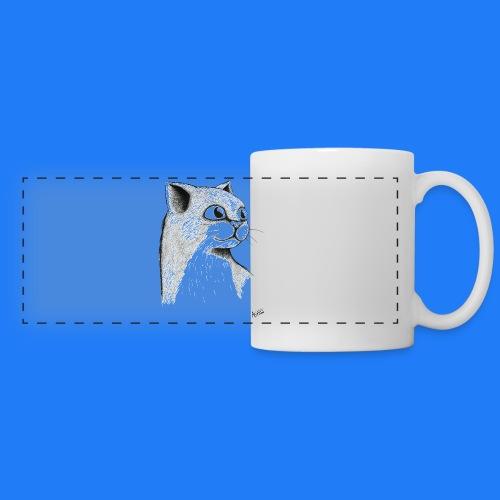 CAT HEAD by AGILL - Mug panoramique contrasté et blanc