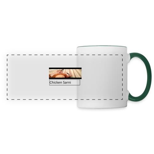 chicken sarni - Panoramic Mug