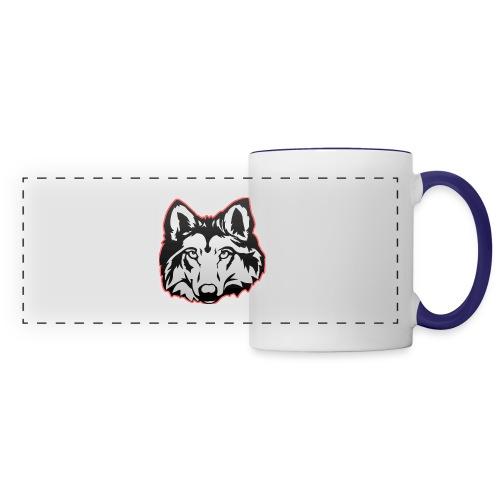 Wolfie (Red) - Panoramic Mug